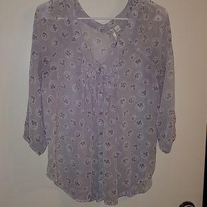 Shear Lauren Conrad blouse